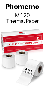 30X20 3 Roll labels