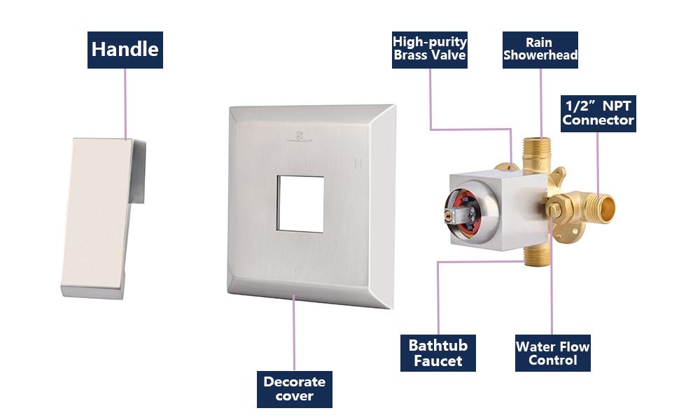 shower faucet valve
