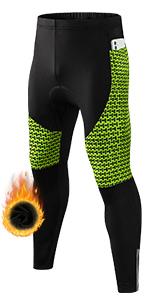 mens thermal bike pants