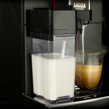 The removable carafe can be stored in the refrigerator between use.