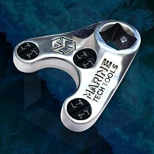 Trim/Tilt Pin Wrench Set, Yamaha, Suzuki, Johnson, Evinrude Yamaha 4 Wrench