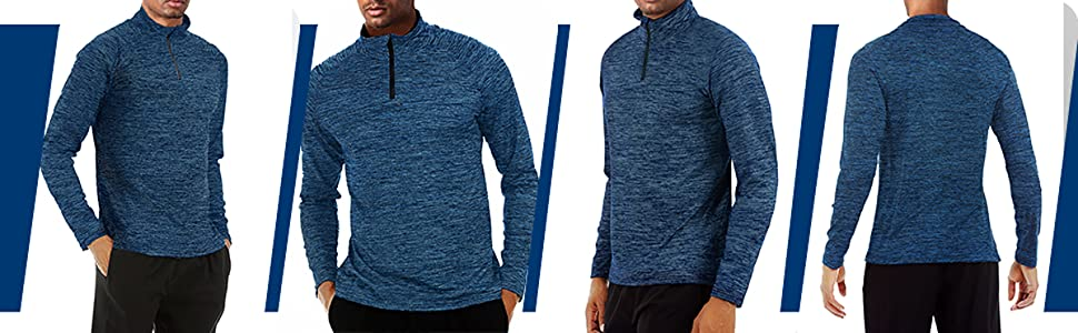 running sports active workout gym shirts for men