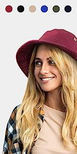 string bucket hat