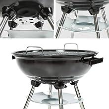 Barbecue Globo a Carbone