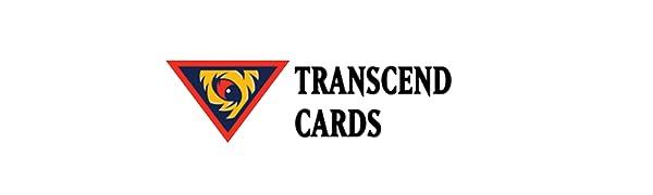 transcendcards, yugioh logo