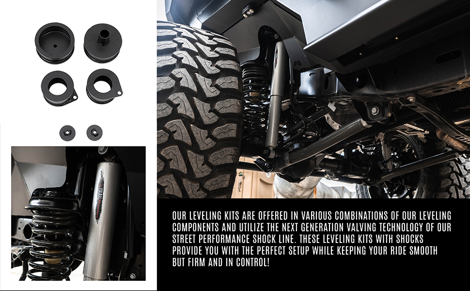 Belltech Leveling Kit with Shock