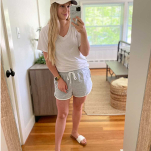 Grey Summer shorts for women from AUTOMET