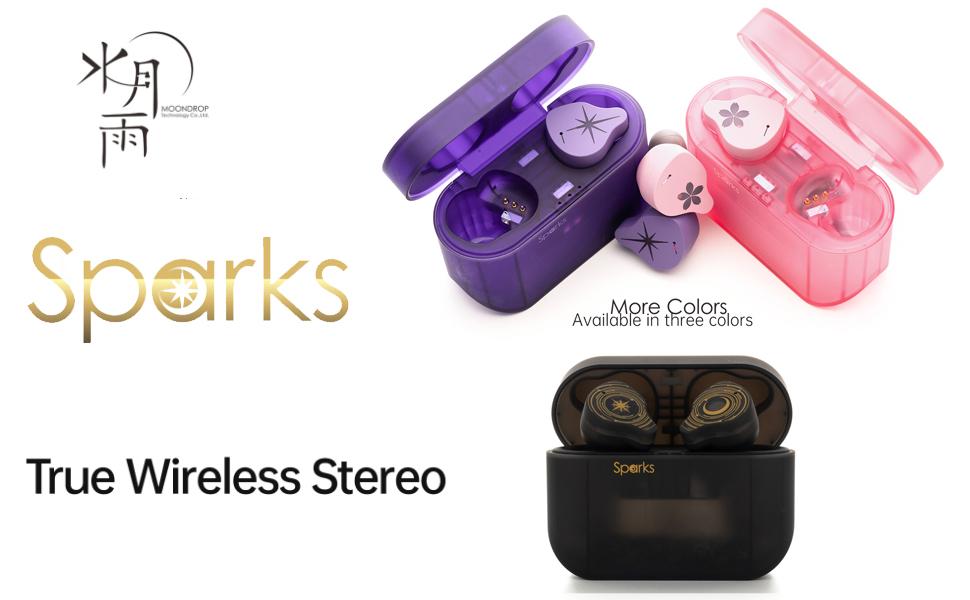 MoonDrop Sparks True Wireless Stereo Earphone Bluetooth 5.2 Dynamic Earbuds TWS Headset