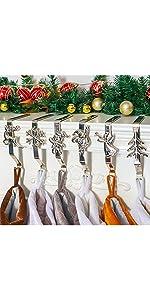 Sliver Stocking Holders 6