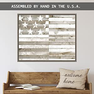 hand assembled in USA