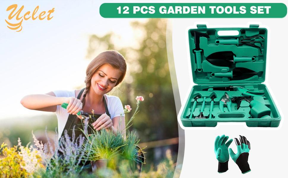 12 pcs garden tools set