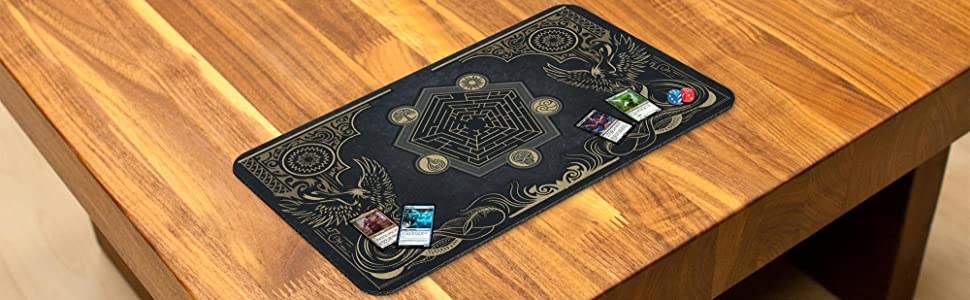 playmat on table