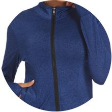 full zip up workout jacket
