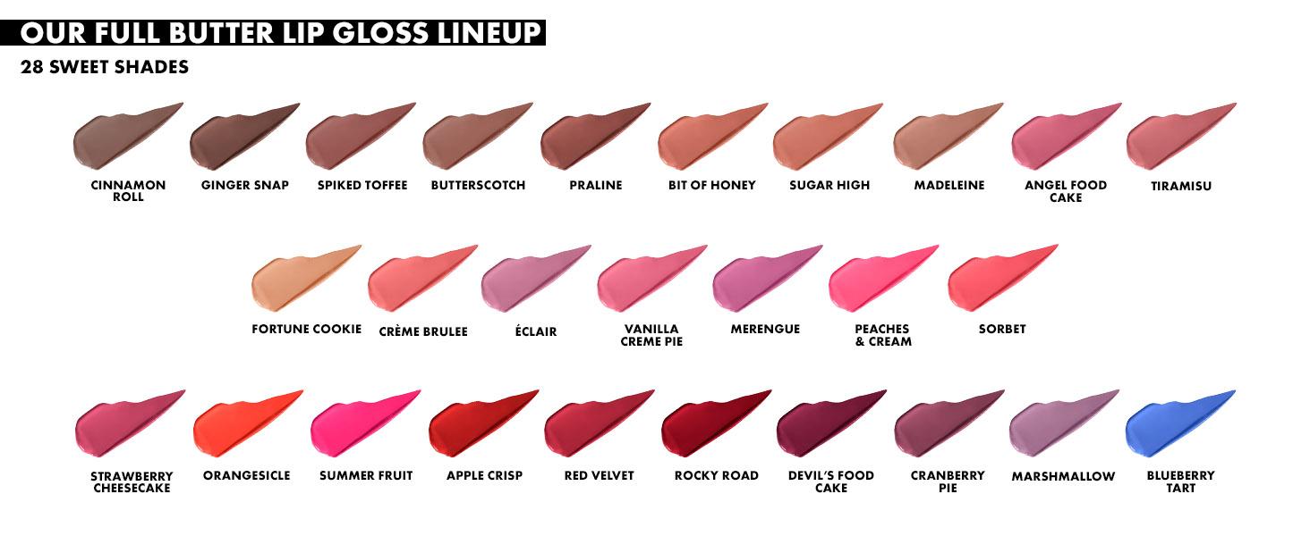 nyx butter gloss lip gloss non sticky