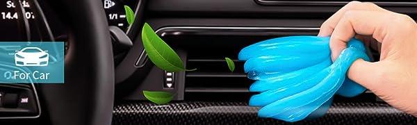 car cleaner gel