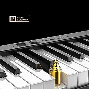 Force sensing keyboard