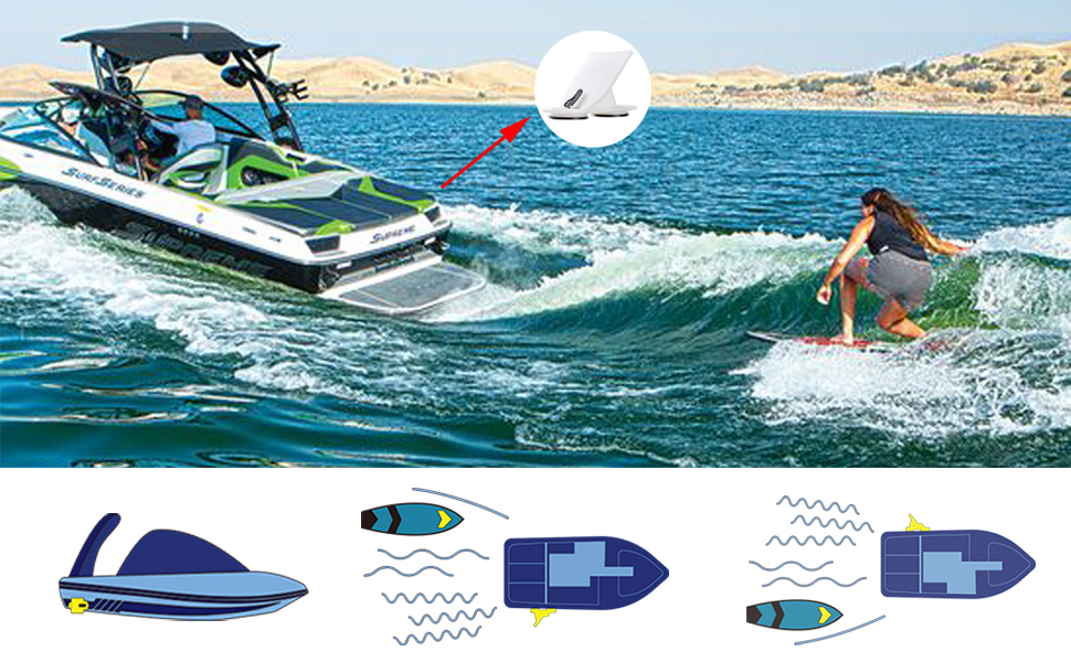 Enjoy your wake surfing time.