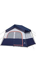 6 Person Tent-Blue
