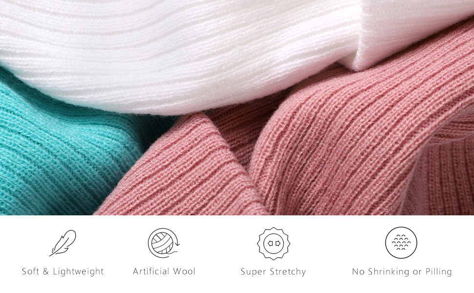 knitted watch hat for women