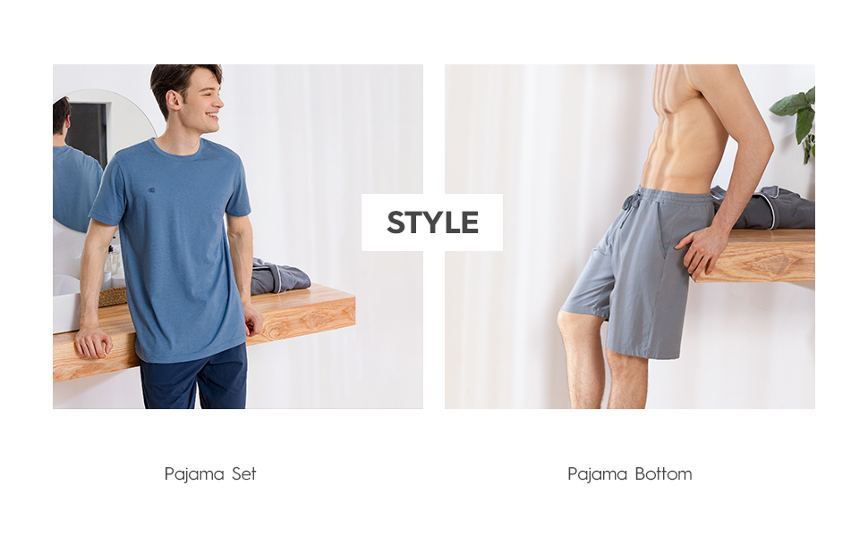 Men's Pyjamas Short Set