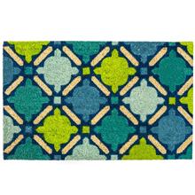 Blue Mosaic Doormat