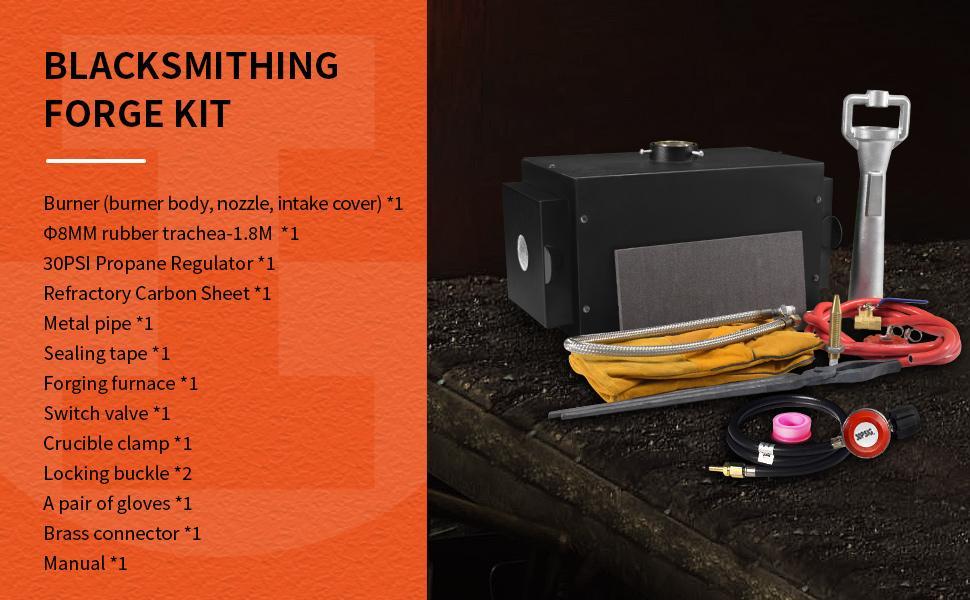 Blacksmithing Forge Kit