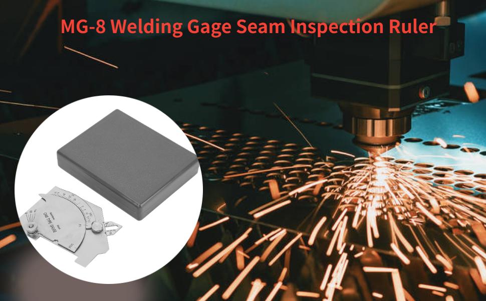 MG-8 Welding Gage Seam Inspection Ruler
