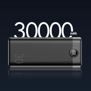 30000mAh capacity