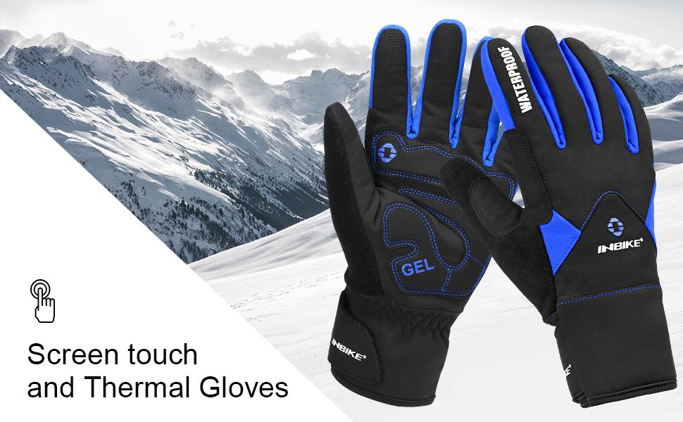 screen touch thermal gloves