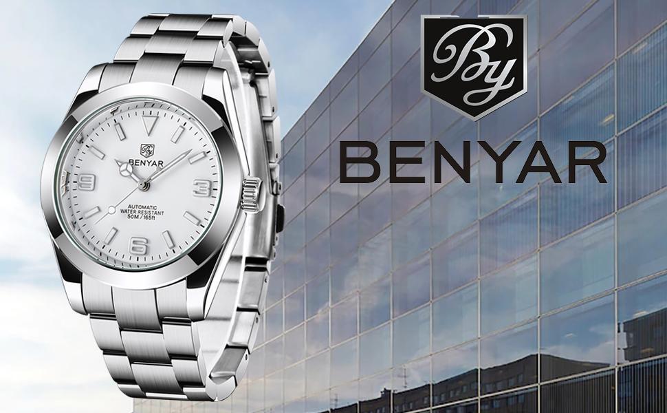 BENYAR Business Men's Watches Sports Waterproof