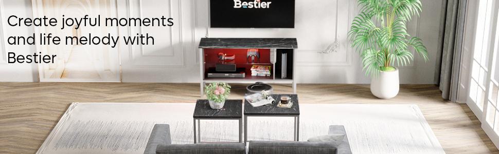 bestier tv stand