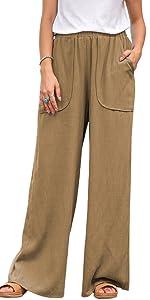 women work casual pants