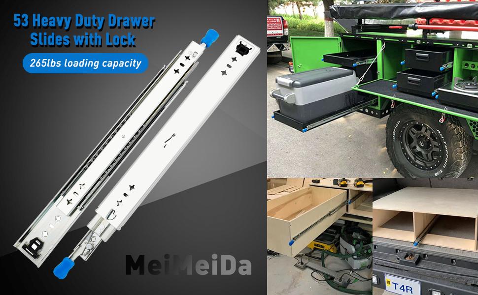 Heavy Duty Drawer Slide