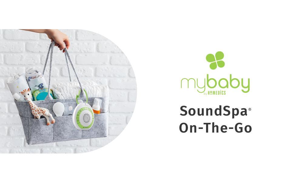 myBaby Sound Spa Portable White Noise Machine