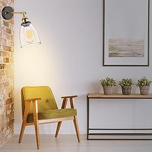 Glass Wall Light