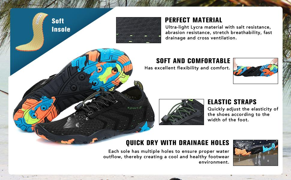 quick-dry water shoes