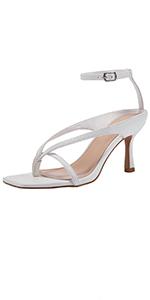 Women's Square Open Toe heels sandals