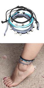 coin anklet