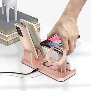 Apple  charging station