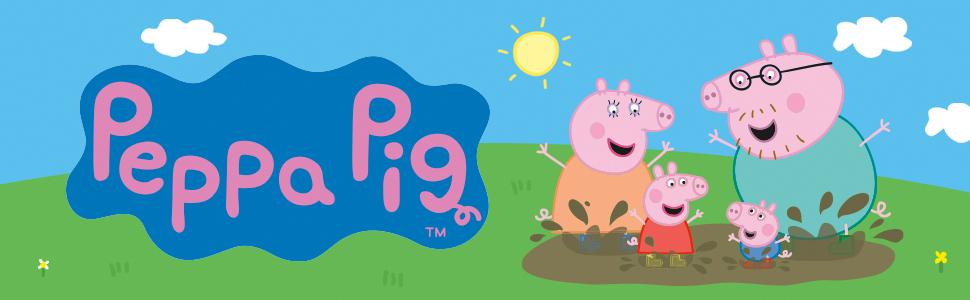 Peppa Pig Banner - Muddy Puddles