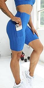 Pantaloncini Sportivi da Donna con Tasche