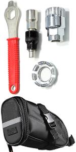 Bike Repair Tool + Bicycle Bag