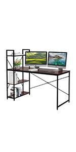 computer desk 55 inch