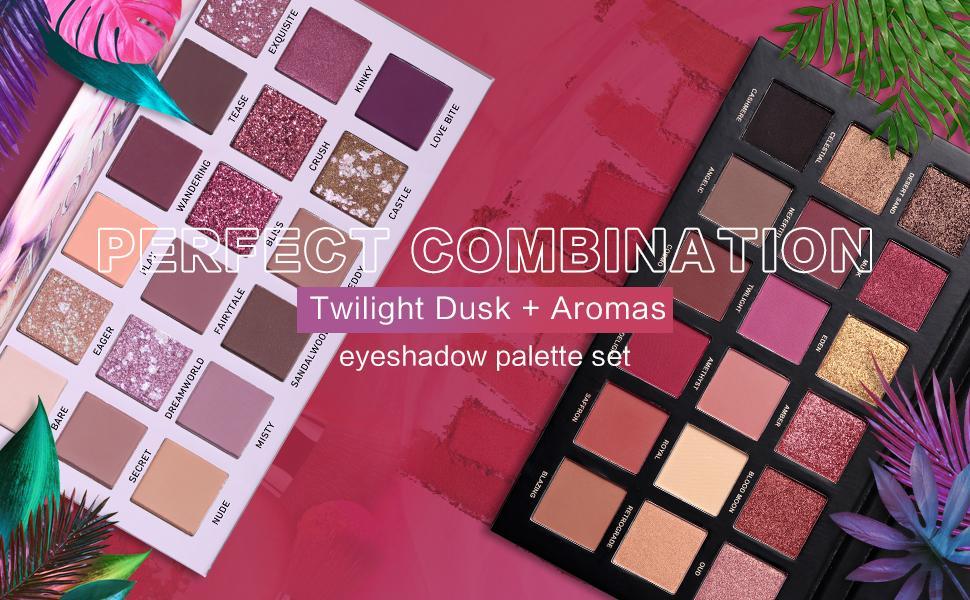 Eyeshadow twilight dusk + aromas