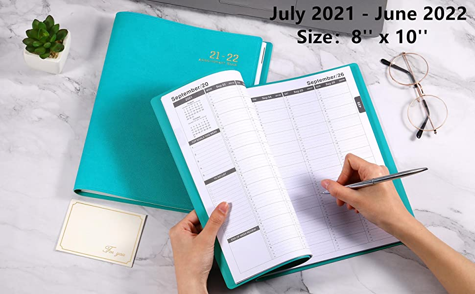 appointment planner 2021-2022 appointment book 2021-2022 day planner 2021-2022 daily planner