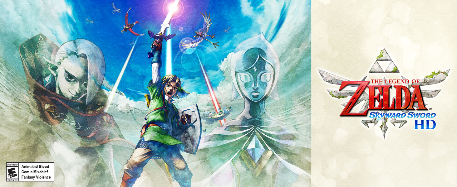 Legend of Zelda Skyward Sword HD 01