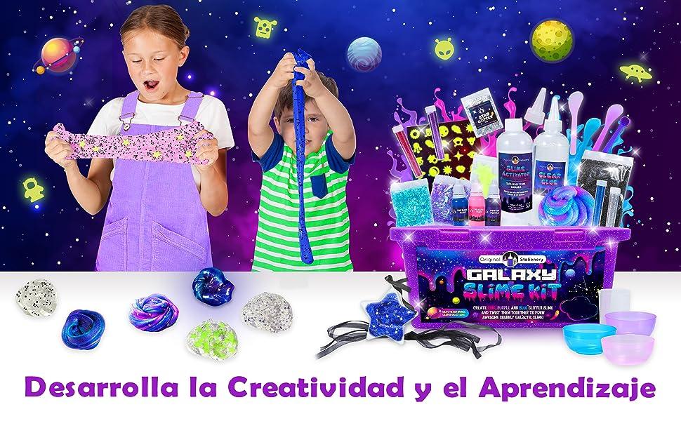 slime kit set slimes regalo para niñas niños regalos chicos manualidades infantiles 5 6 7 8