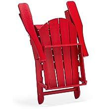 Folded adirondack Chair