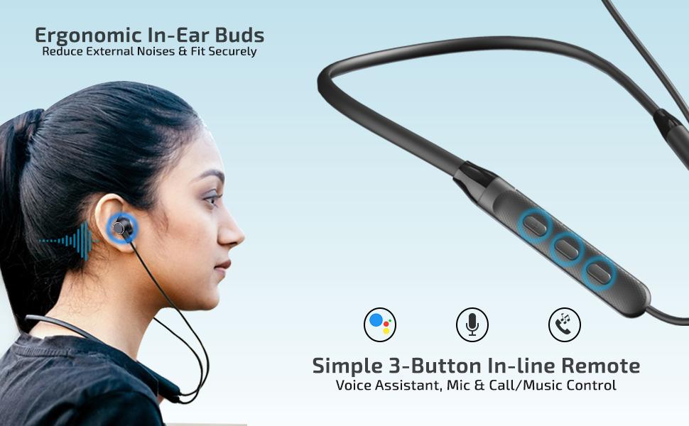 pTron Tangent Evo Wireless Earphones