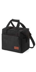 black lunch box